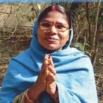 Leprosy patient-hands in Namaste
